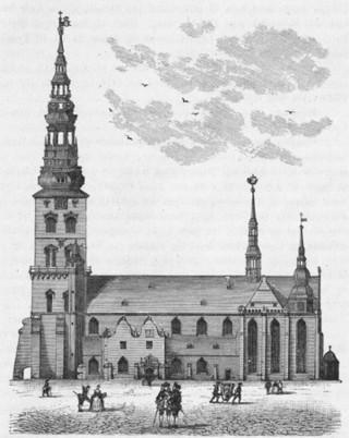 St nicolaj kirke omkr 1700